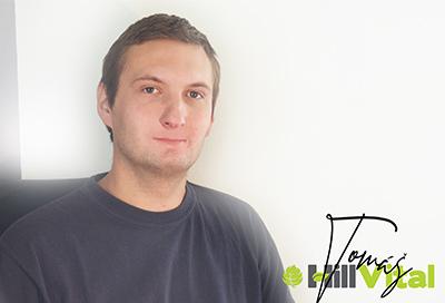 Tomáš D. grafik a sociální sítě   HillVital