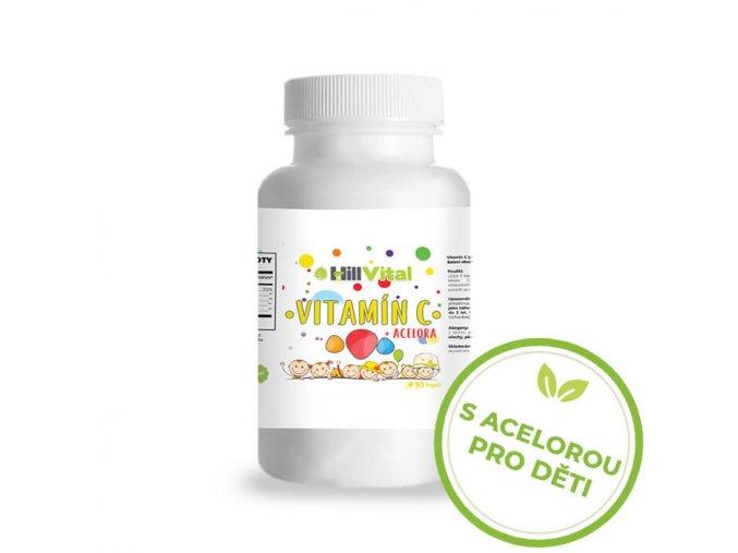 hillvital vitamin c acelora deti cz