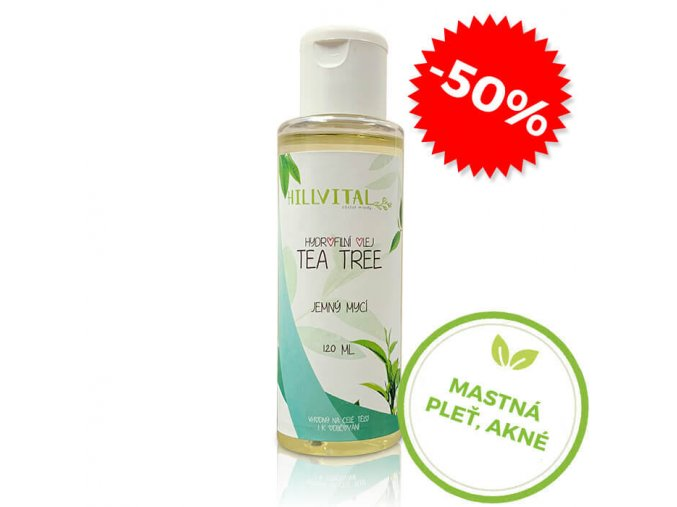 hydrofilny olej tea tree hillvital sk cz mastna plet akne uvadeci cena