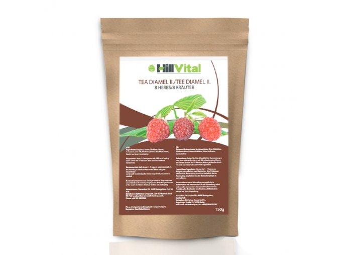 Čaj Diamel II na cukrovku HillVital inf