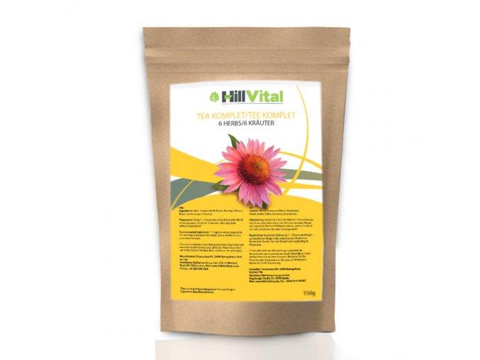 Čaj Komplet žaludeční čaj, na posílení imunity HillVital inf