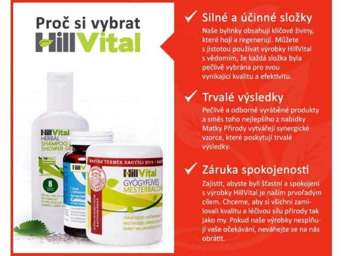 1INF Salikort balzam migréna bolest hlavy přírodní léčba HillVital