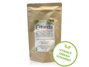 chlorela vysoky obsah vitaminu hillvital