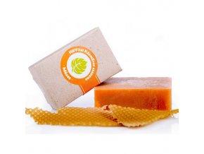 medove mýdlo omlazení pleti