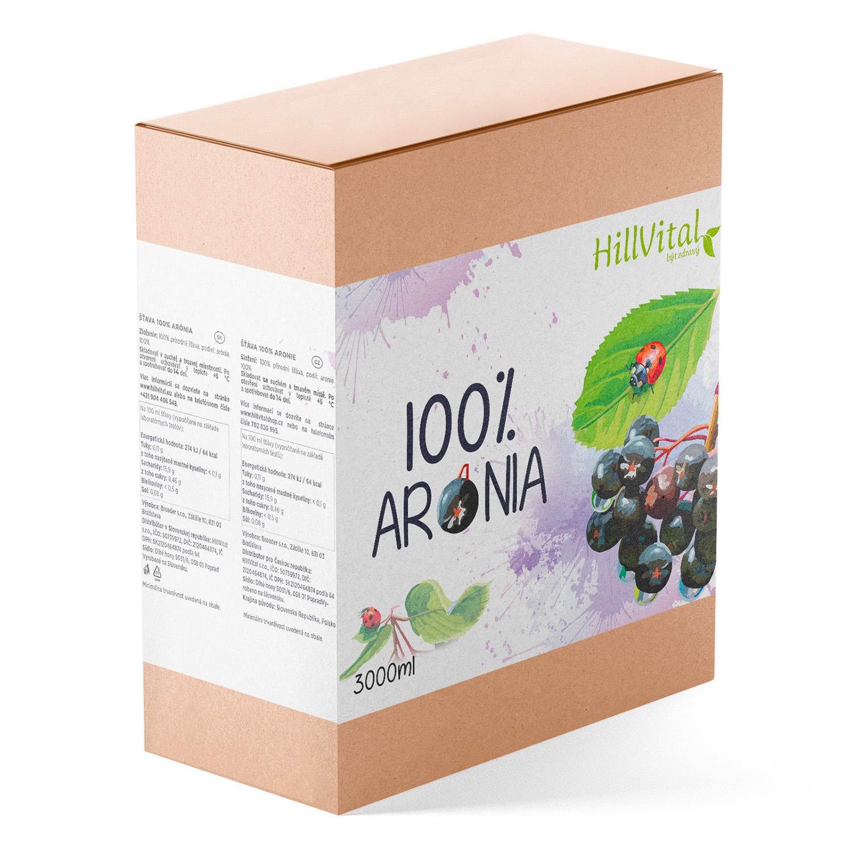 HillVital | Arónie 100% šťáva 3l