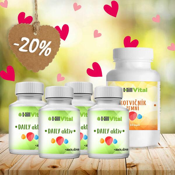 HillVital   Balíček na prostatu s přírodními doplňky výživy 400g