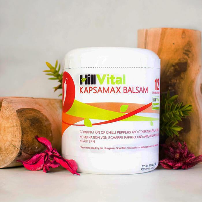 HillVital   Kapsamax - mast na ztuhlé svaly a klouby 250 ml