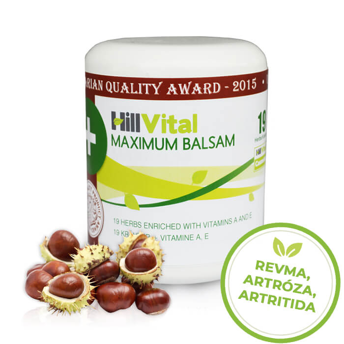 HillVital | Maximum - mast na revma 250 ml