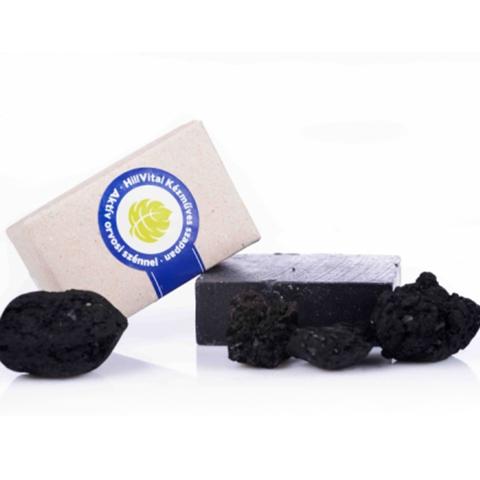 HillVital   Mýdlo na akné s aktivním lékařským uhlím 95 g