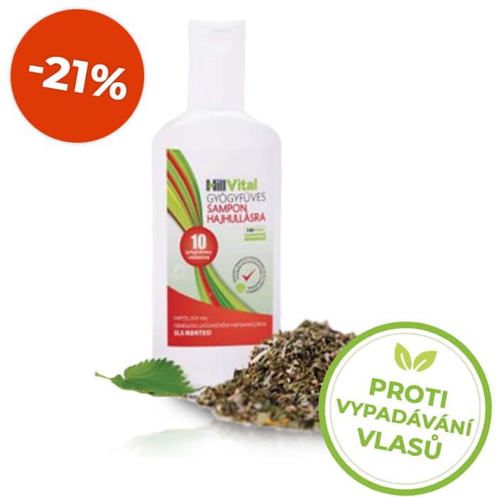 HillVital | Přírodní šampon proti vypadávání vlasů 250 ml