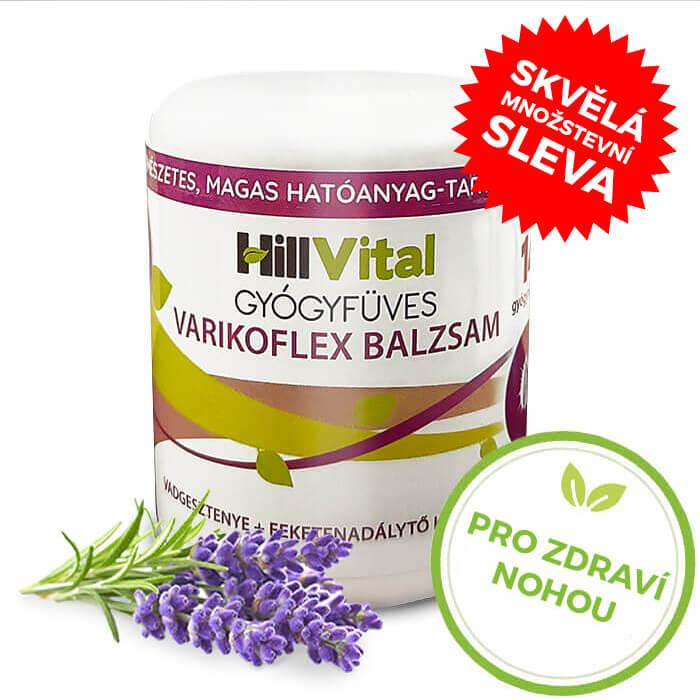 HillVital   Varifkoflex mast na křečové žíly 250g