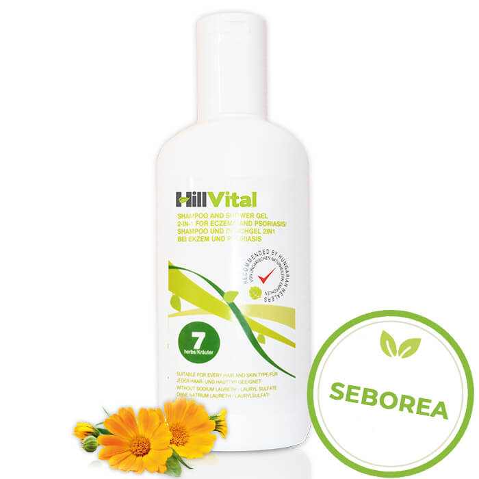 HillVital | Šampon na seboreu ve vlasech 250 ml