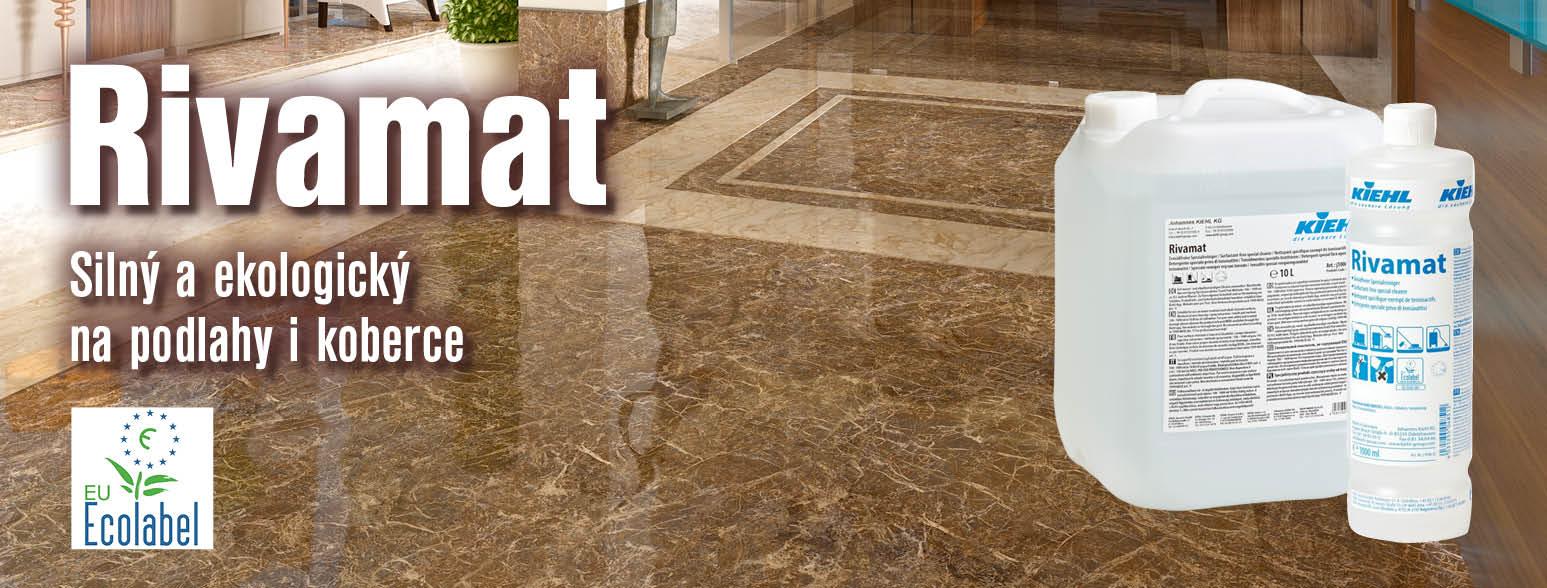 Rivamat - ekologický profesionální čisticí prostředek na mytí teras a podlah