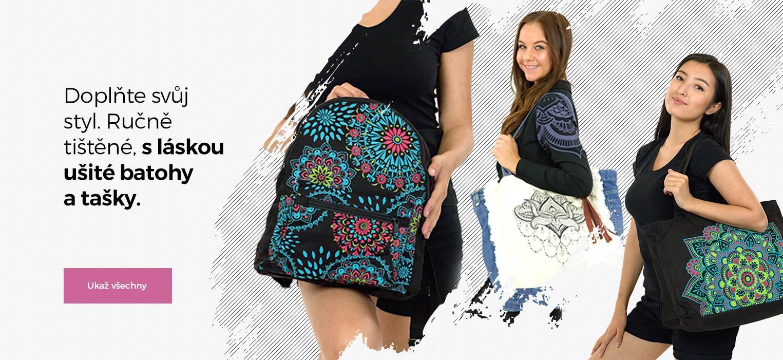 S láskou šité batohy a tašky z Nepálu