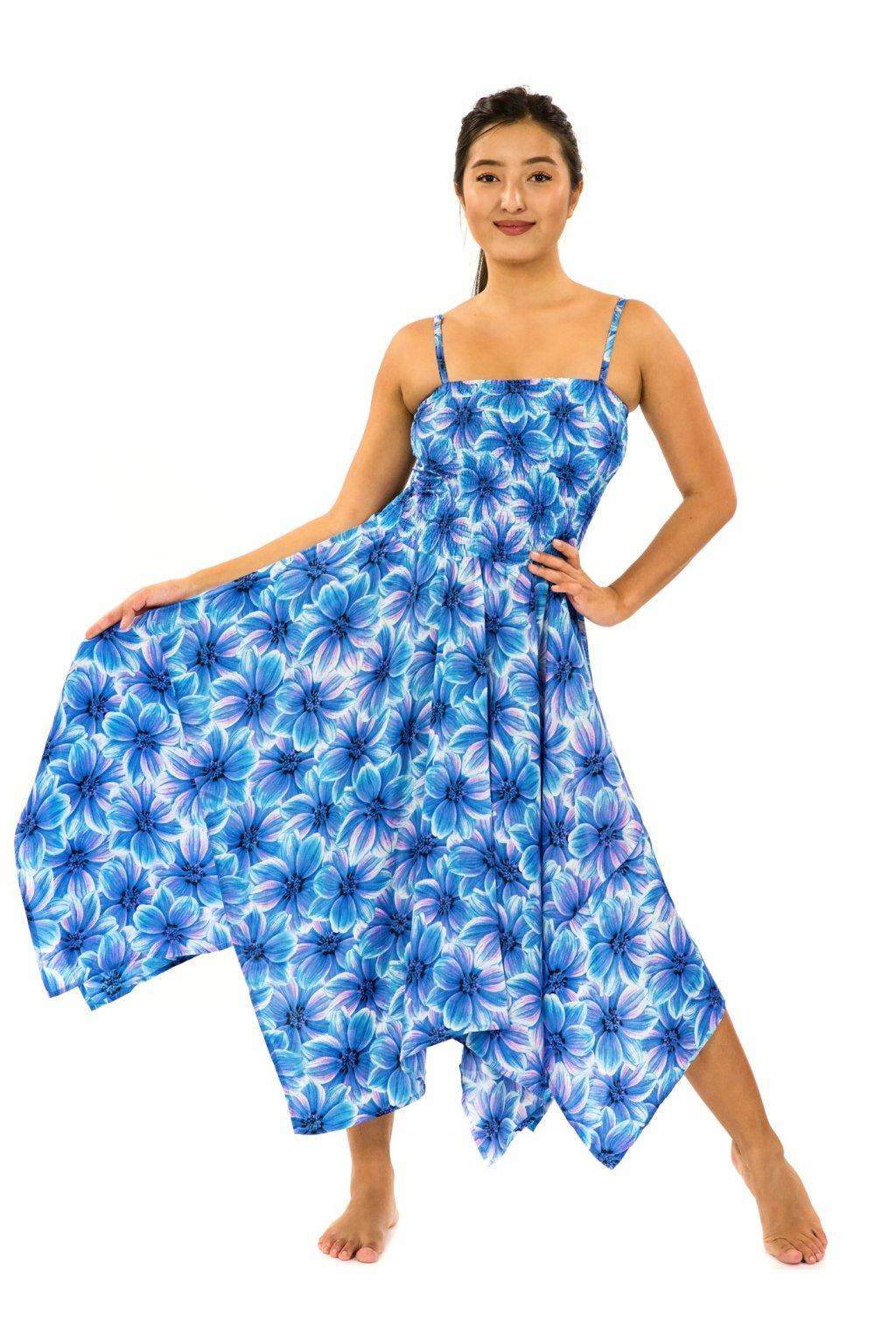 Šaty-sukně 2v1 Dawa Shira - tyrkysová