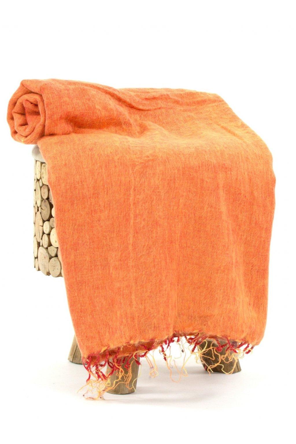 Deka/pléd Yak wool Nepal 13