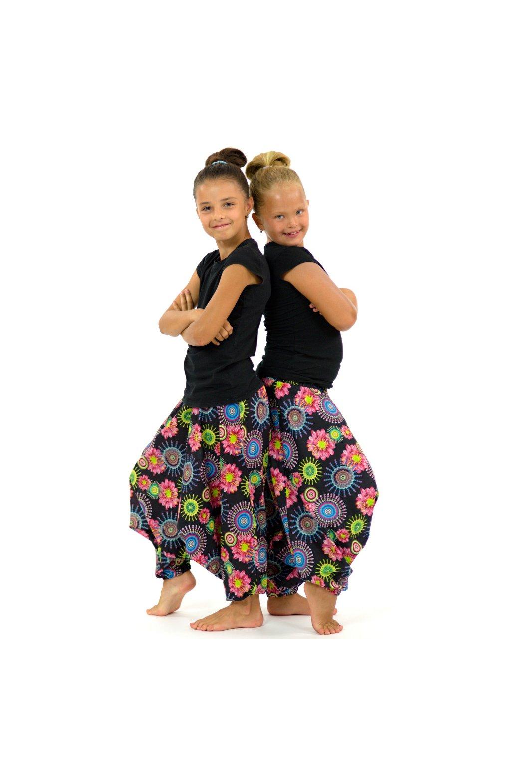Dětské kalhoty-šaty-top 3v1 - Kalika