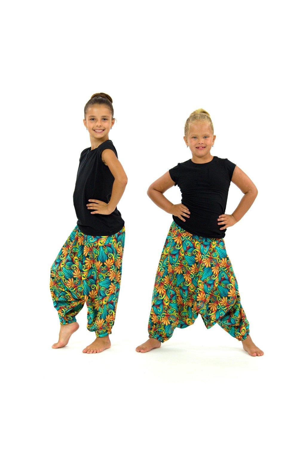 Dětské kalhoty-šaty-top 3v1 - Rula