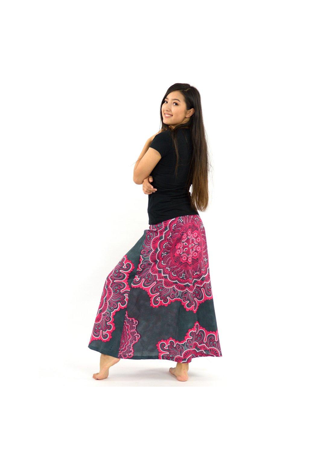 Dlouhá sukně Sun - růžová