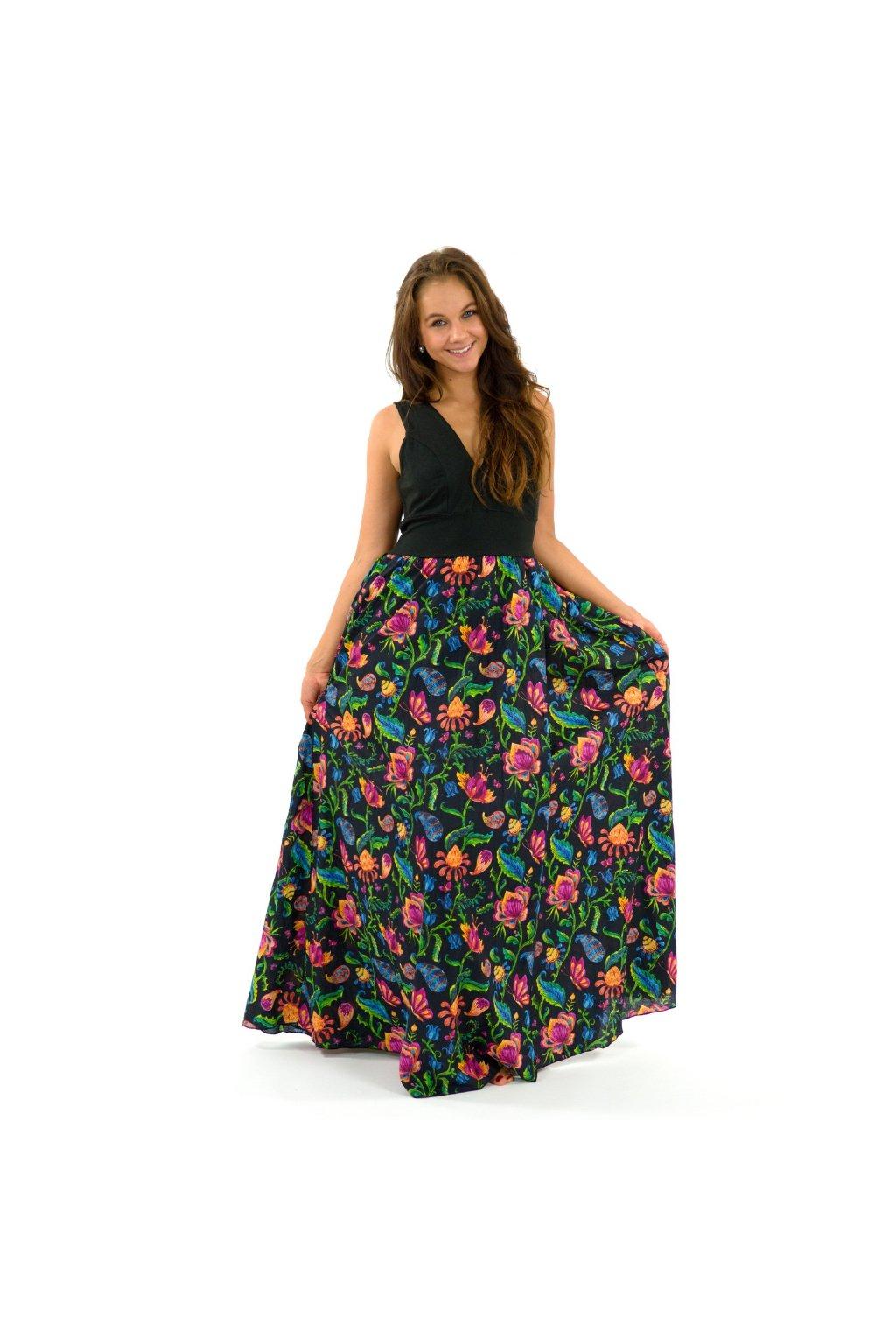 Dlouhé maxi šaty Meda