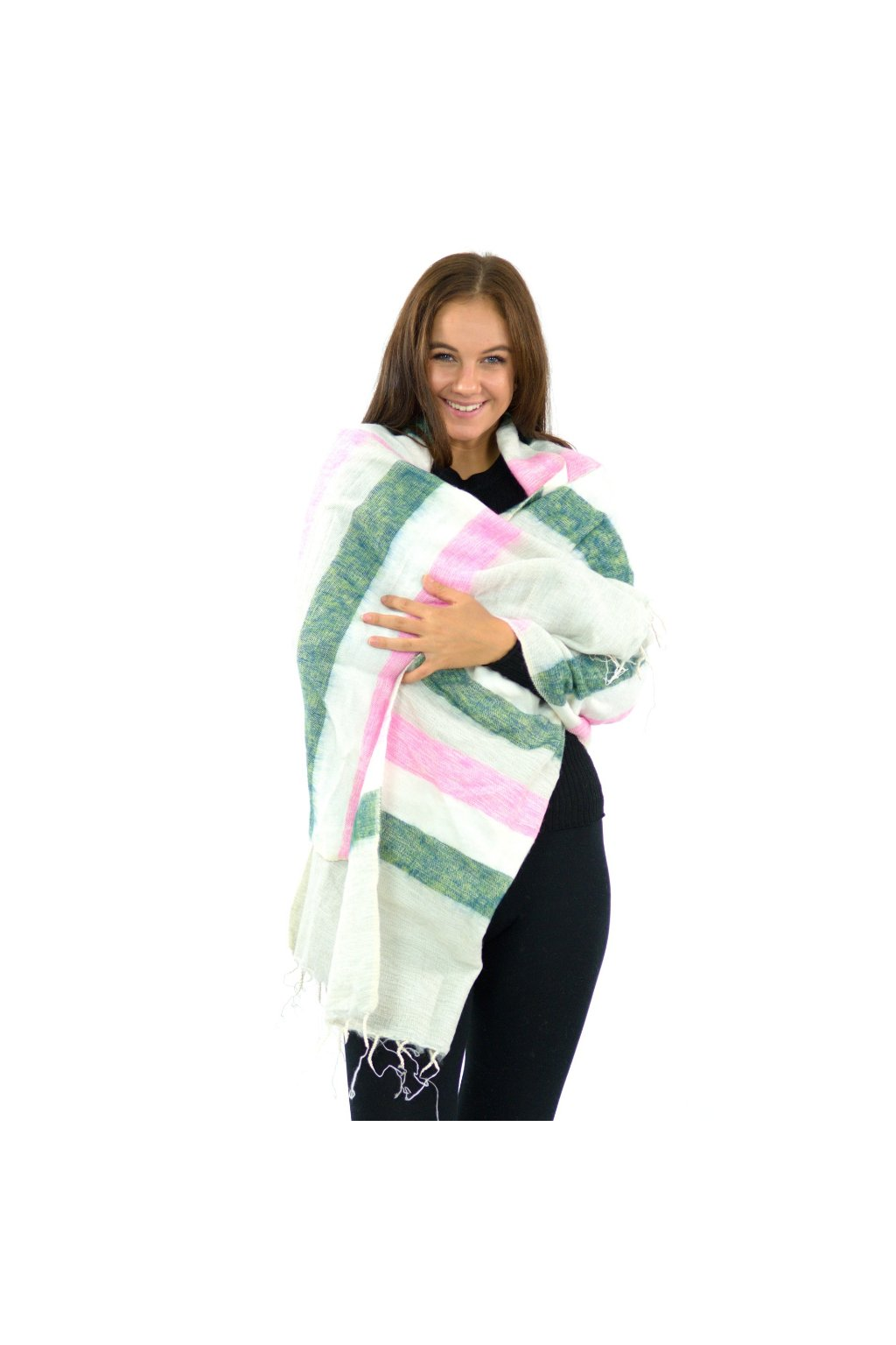 Hřejivá šála Yak wool 48