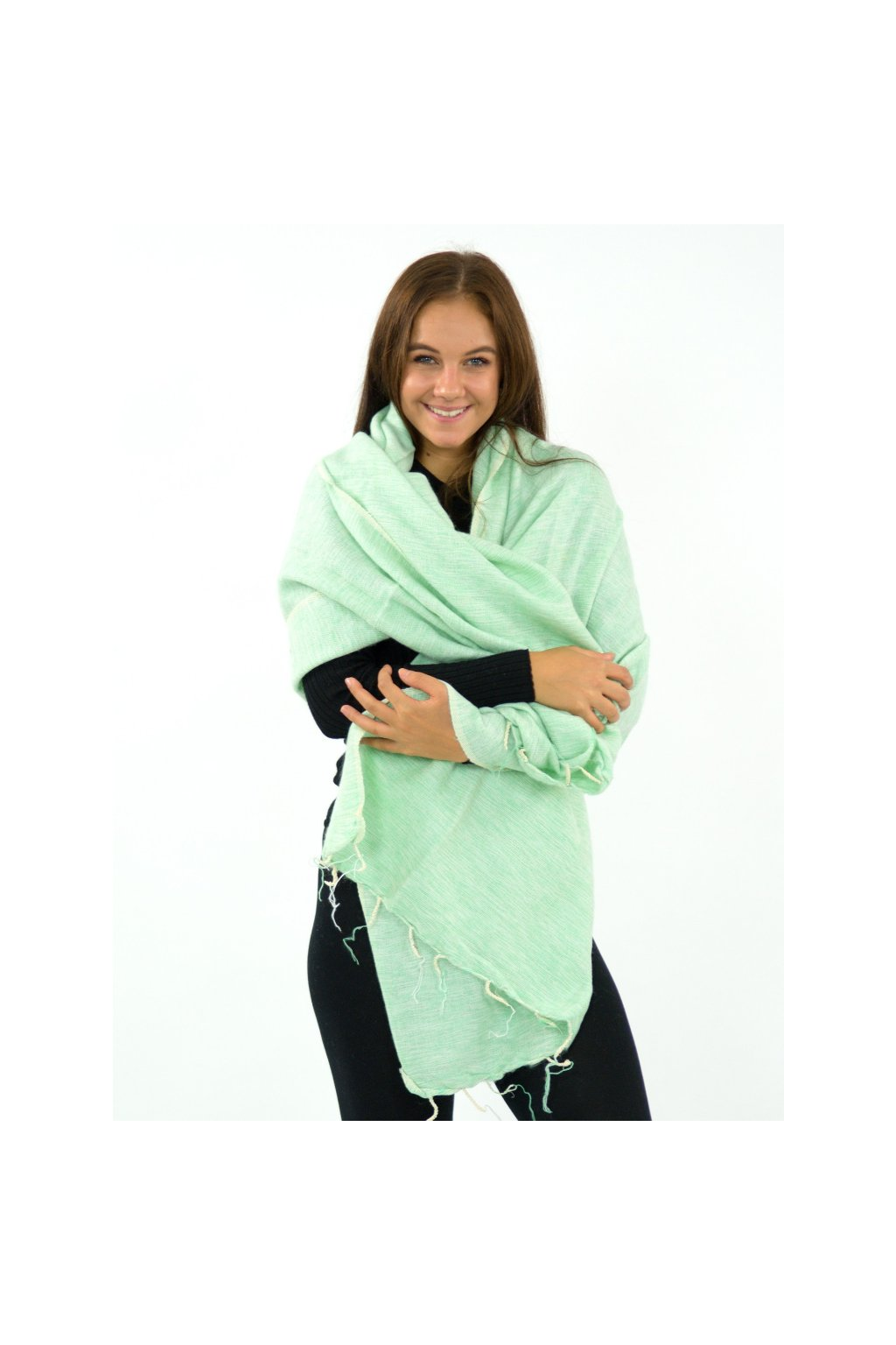 Hřejivá šála Yak wool 52