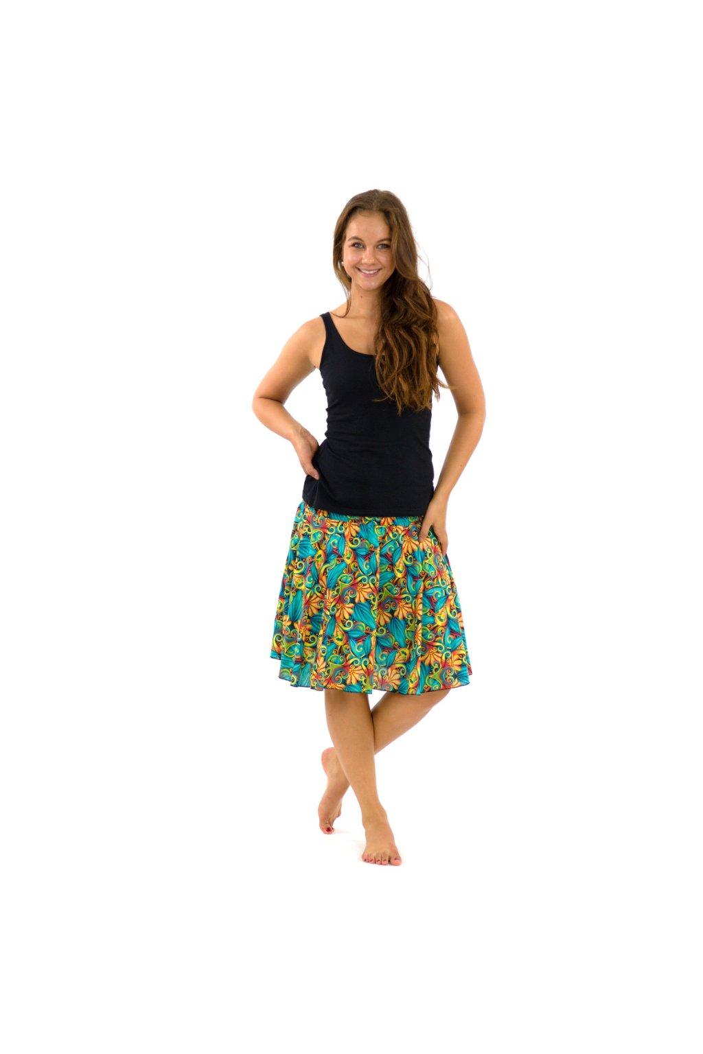 Kolová sukně Rula