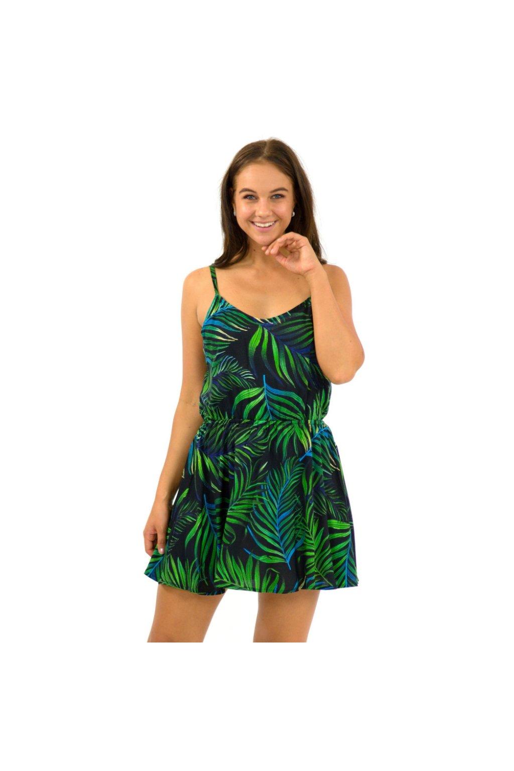 Letní šaty / tílko Listy