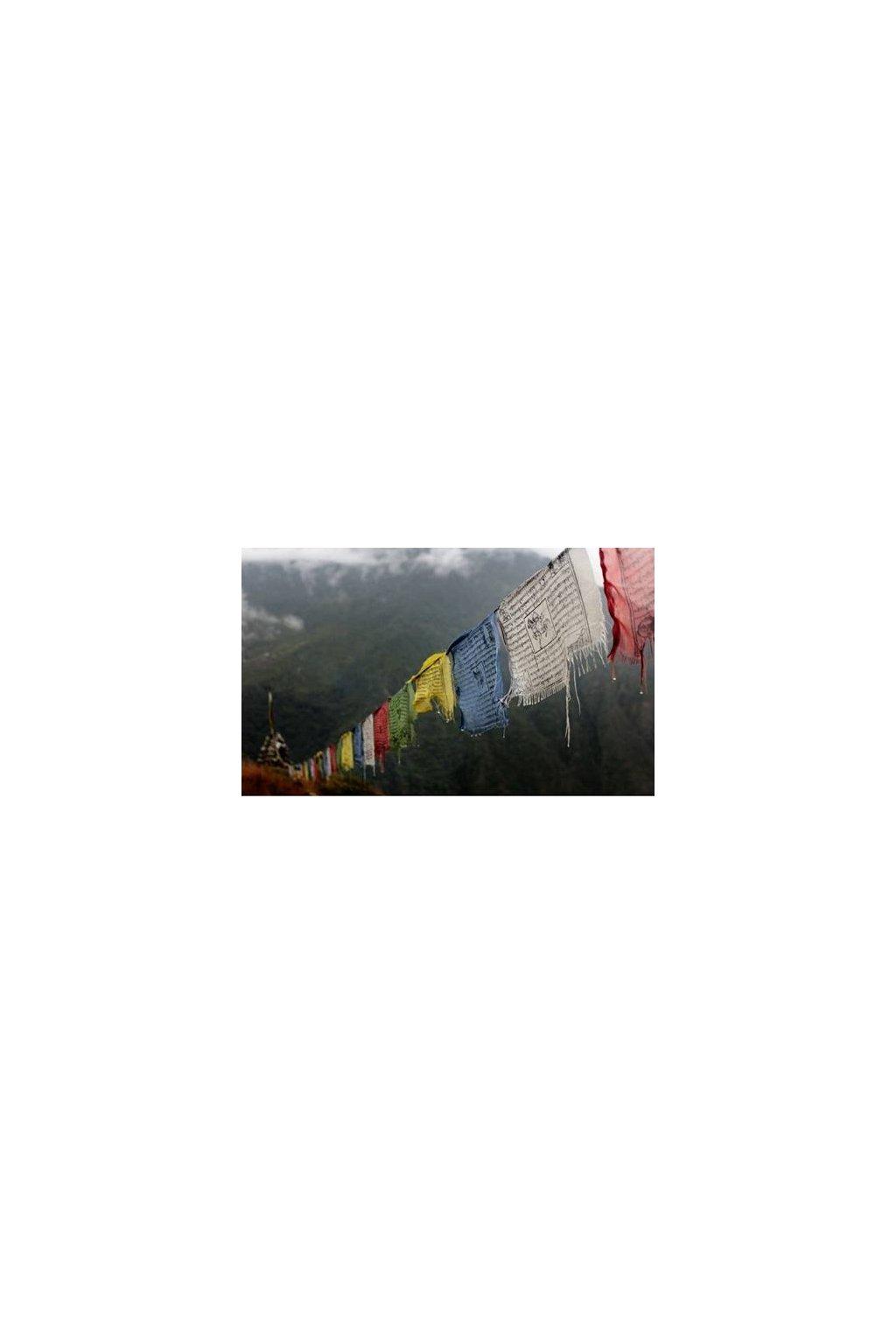 Lungta - tibetské modlitební praporky velké
