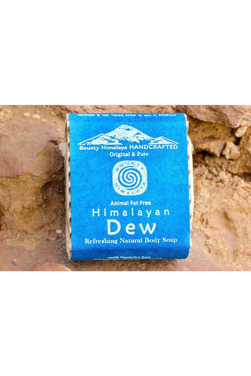 Ručně vyrobené mýdlo z Nepálu - Himalájská rosa