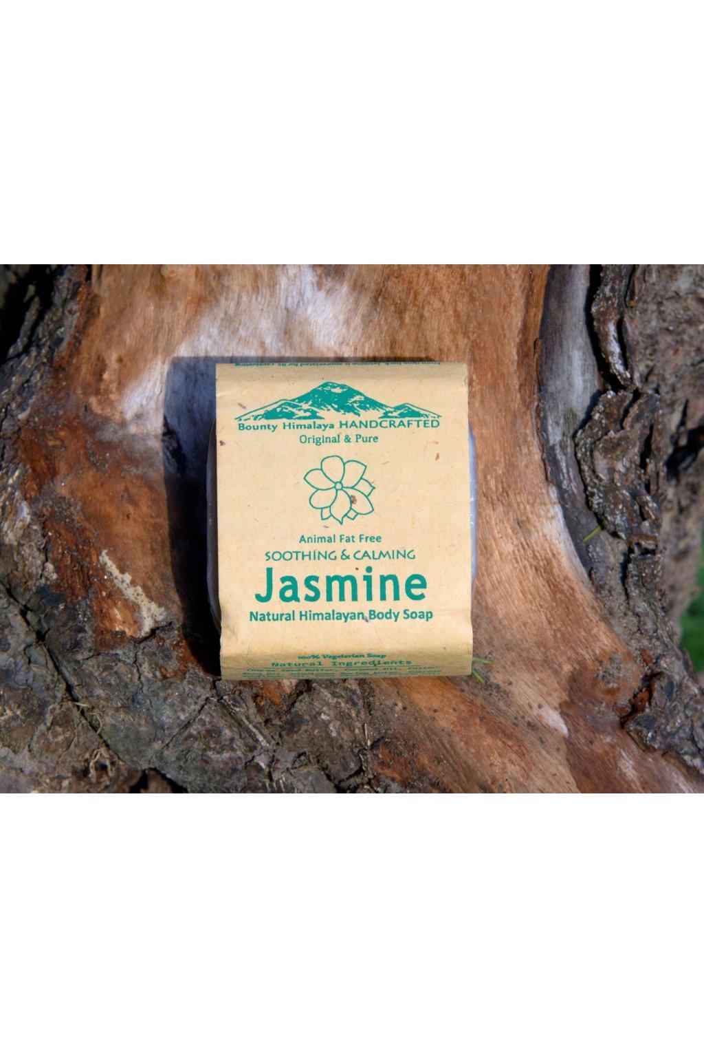 Ručně vyrobené mýdlo z Nepálu - Jasmín