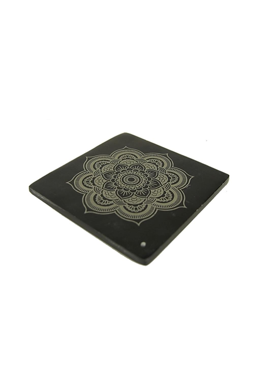 Stojánek na vonné tyčinky - Mandala - čtverec