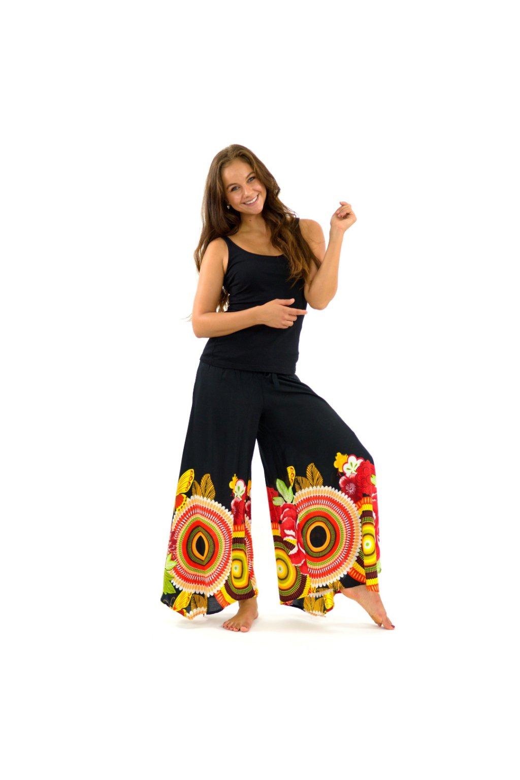 Široké kalhoty Fly - barevné