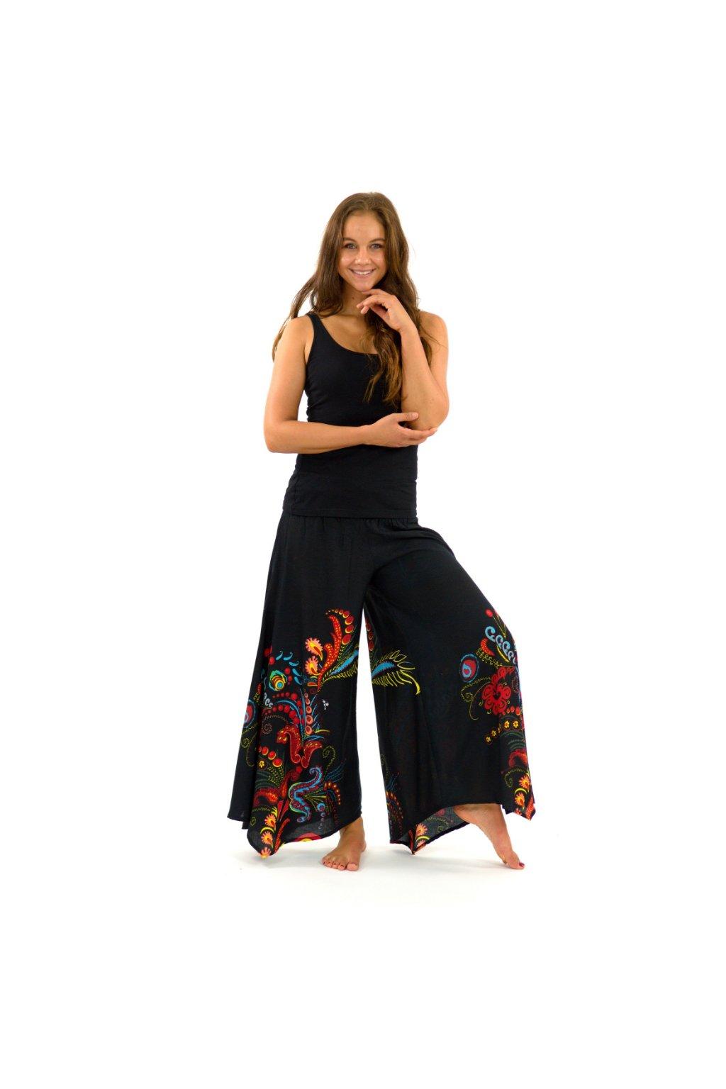 Široké kalhoty Samsa - barevné