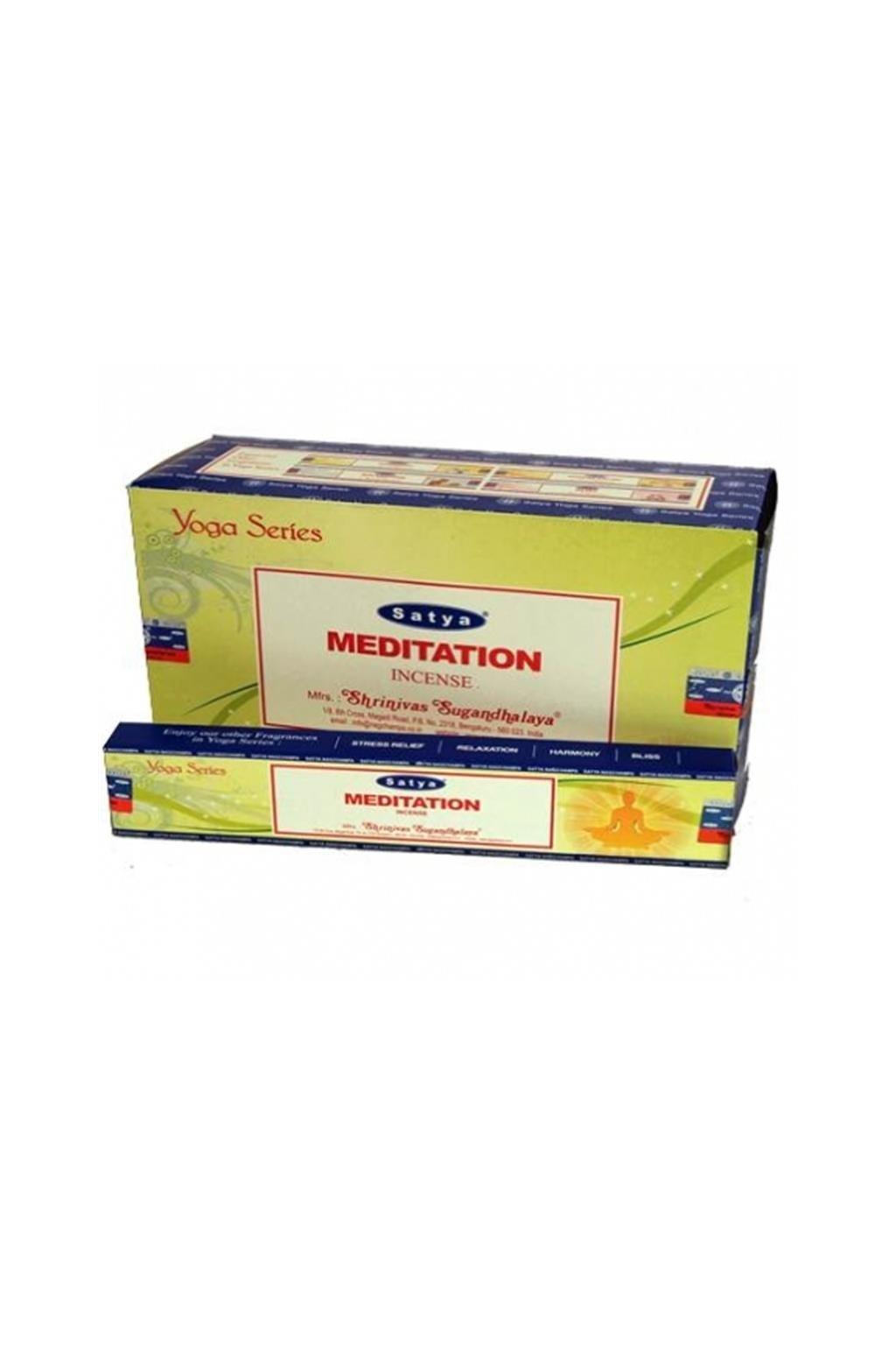 Vonné tyčinky Satya Nag Champa - Meditation