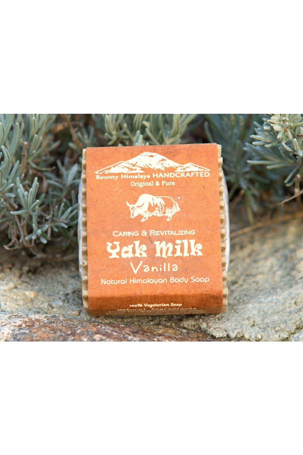 Ručně vyrobené mýdlo Yak Milk - Vanilka