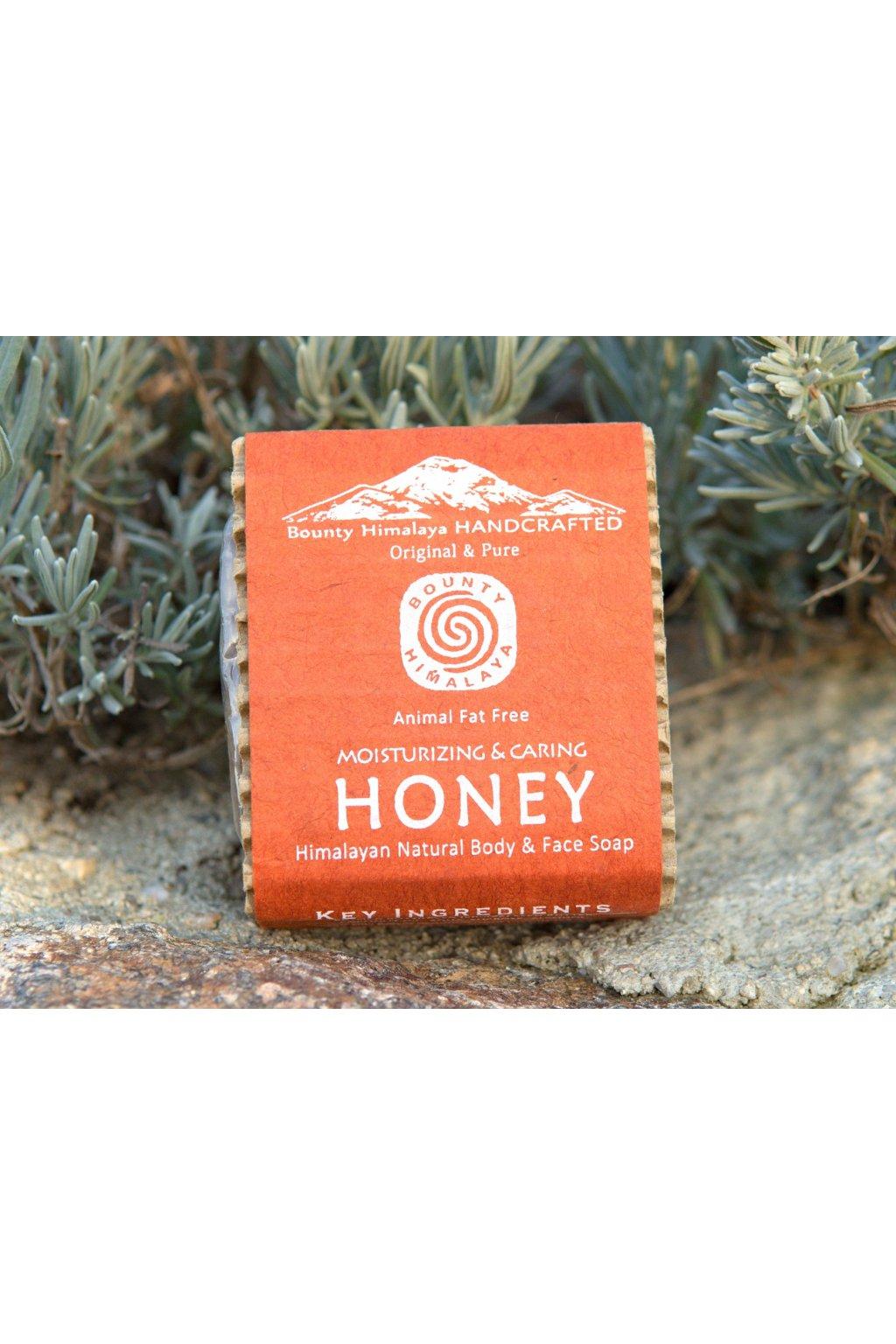 Ručně vyrobené mýdlo - Honey