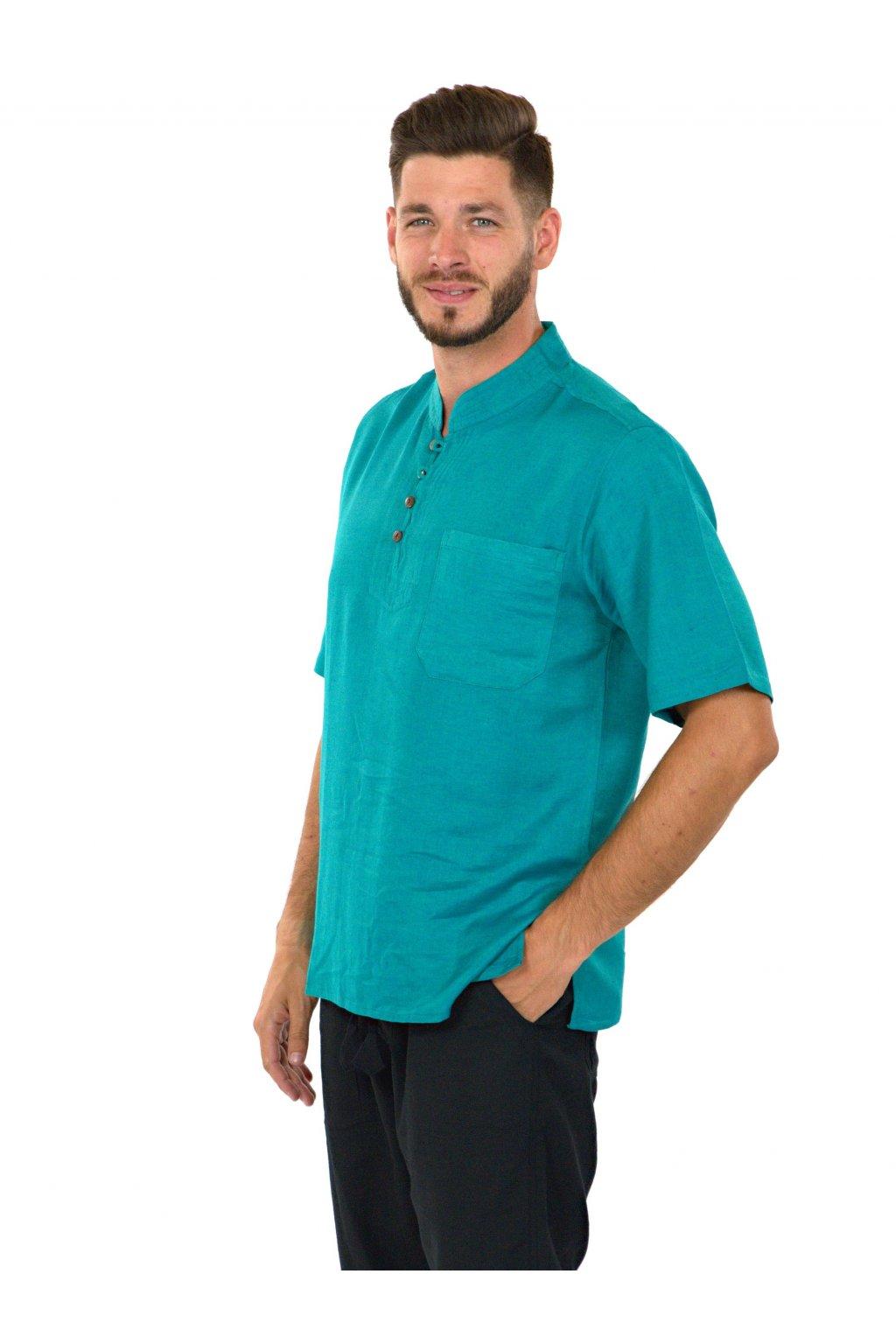 Pánská košile Kahuna - tyrkysová
