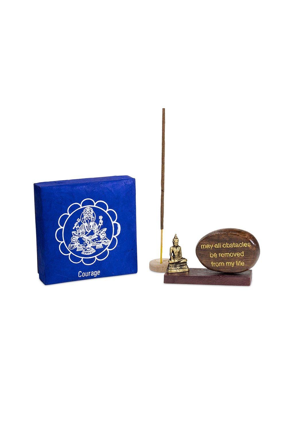 Dárková meditační krabička Odvaha