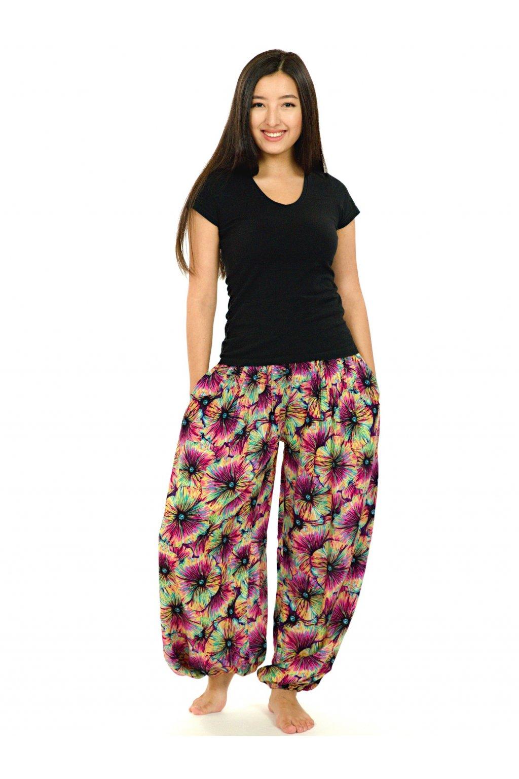 Kalhoty Lanai - barevné