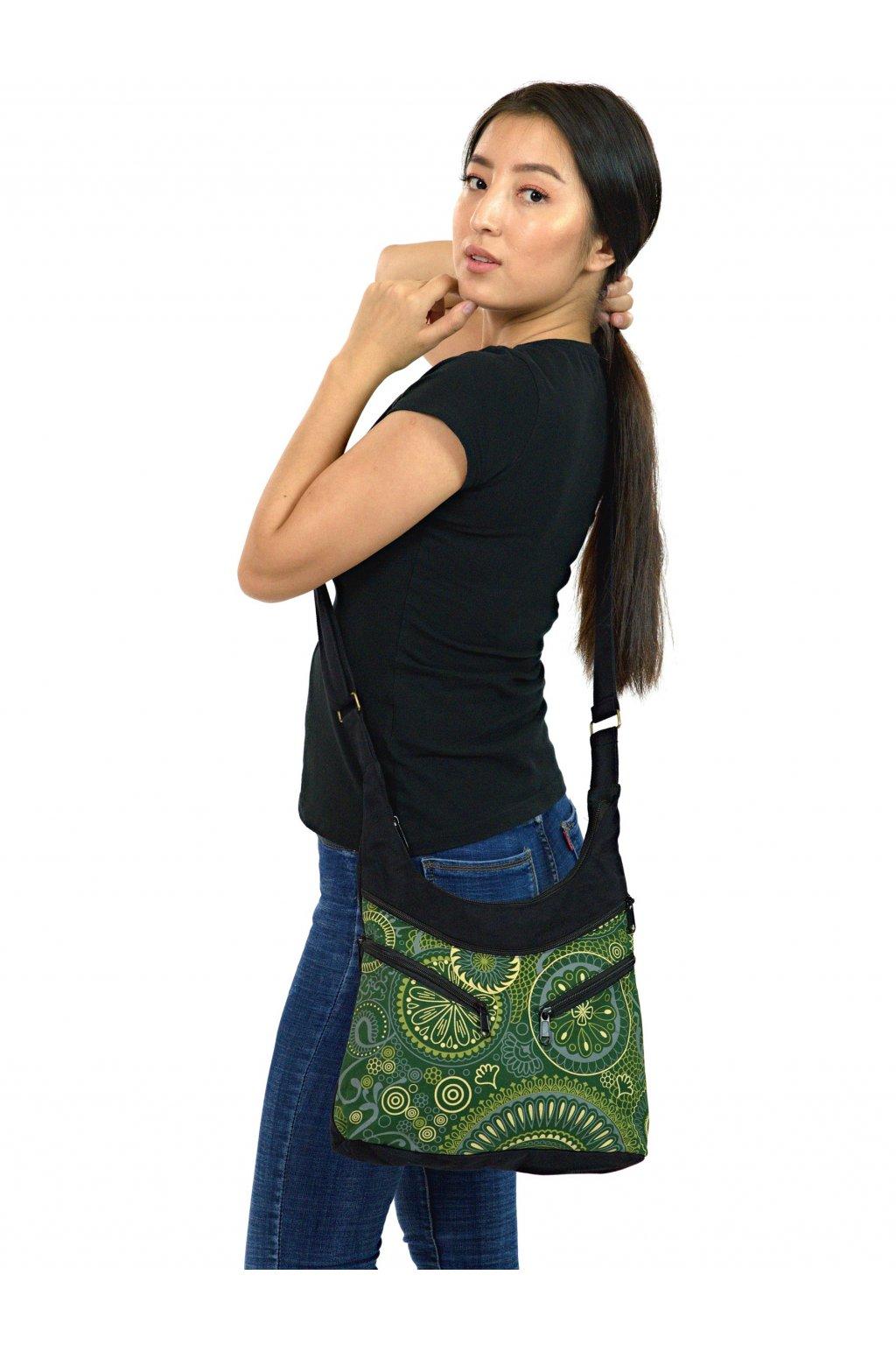 Crossbody kabelka Makua - zelená
