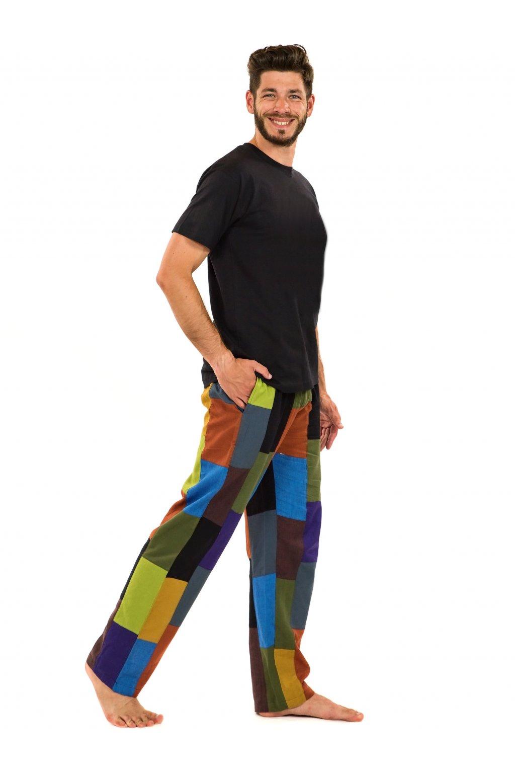Pánské kostkované kalhoty Kiran