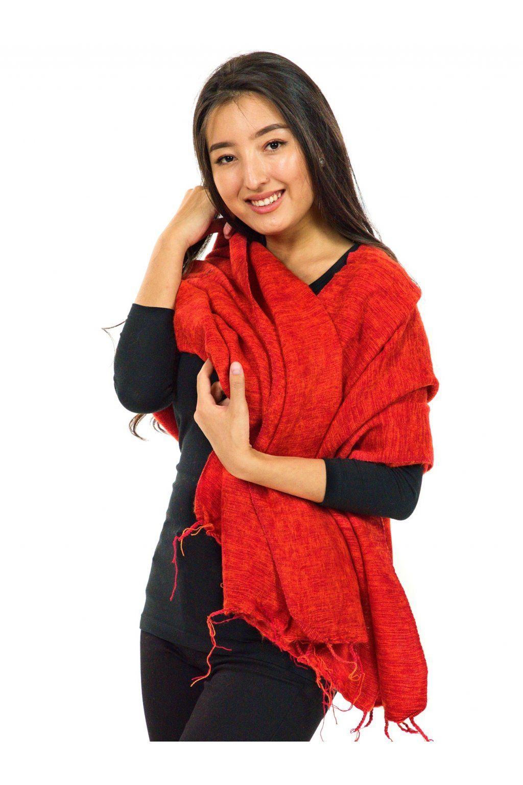 Hřejivá šála Yak wool 2