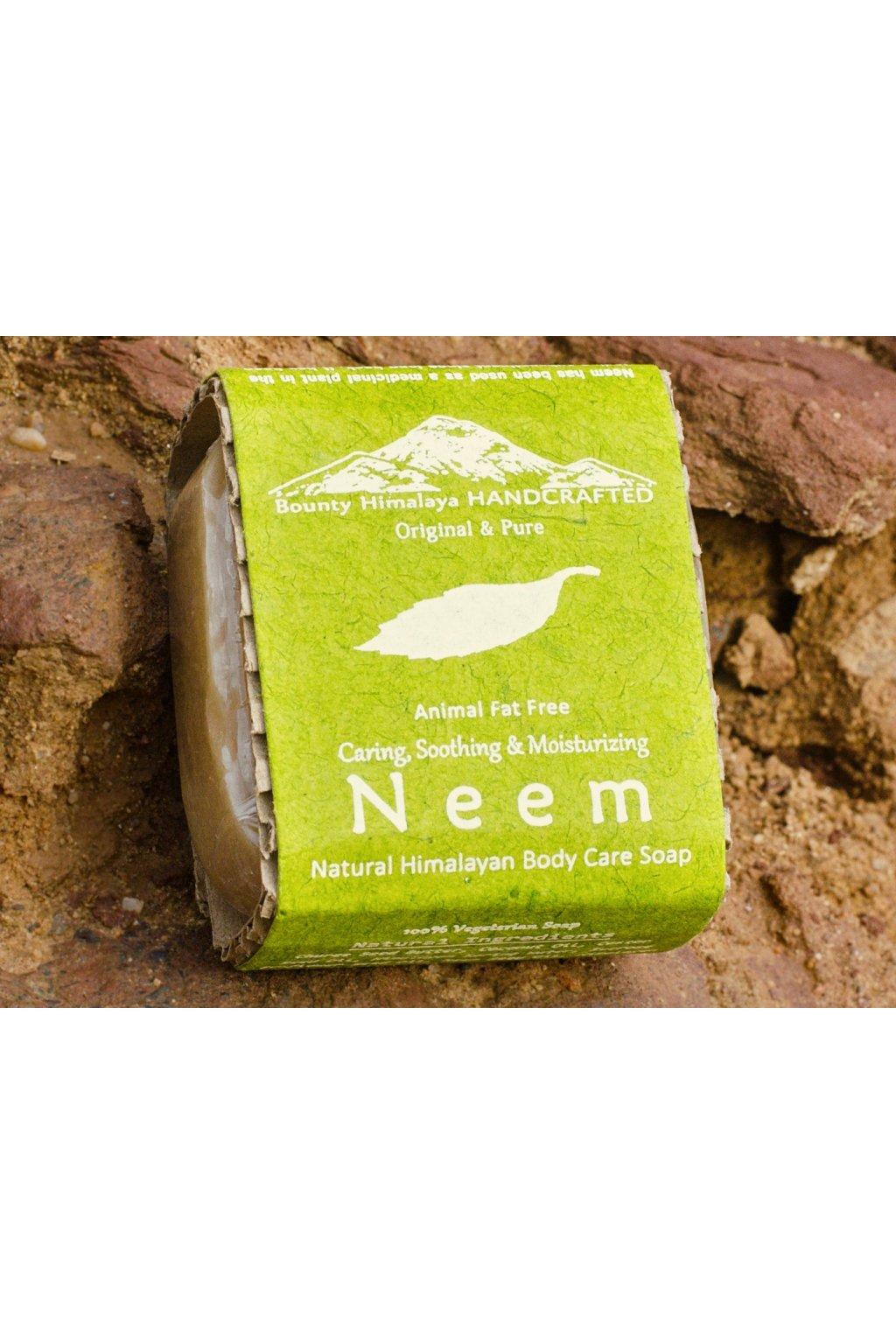 Ručně vyrobené mýdlo - Neem