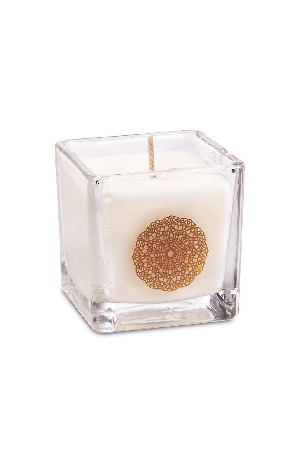 Vonná svíčka Mandala Santalové dřevo - malá
