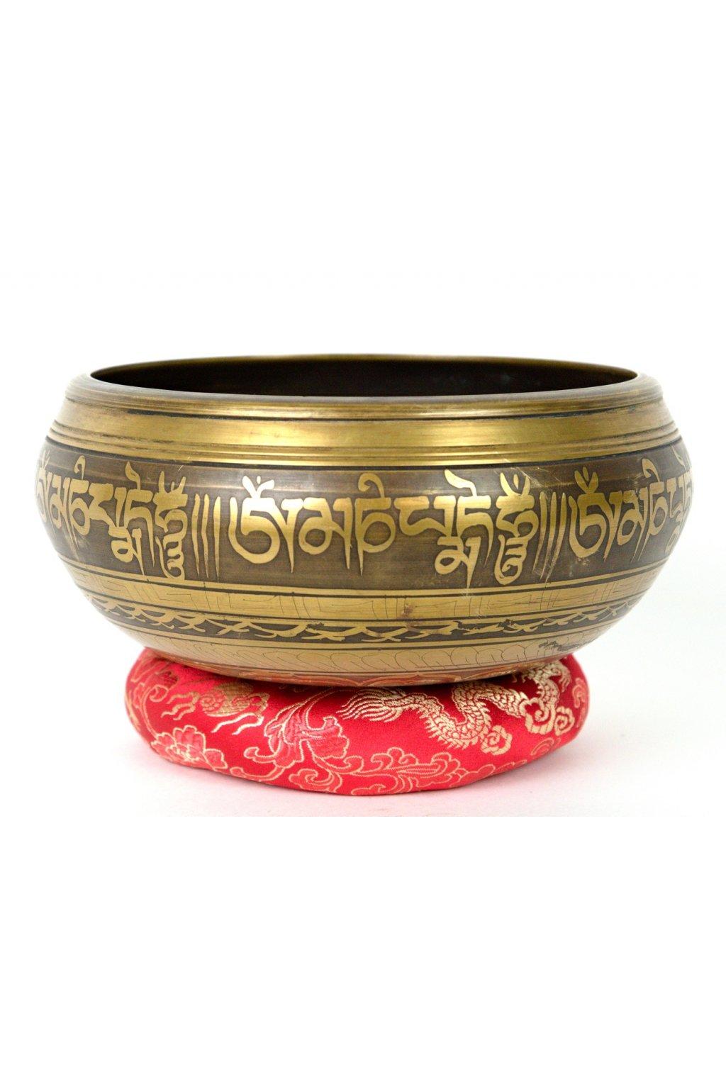 Tibetská zpívající mísa 1089 gr - odlévaná