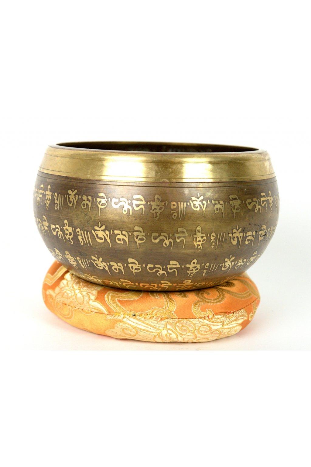 Tibetská zpívající mísa 907 gr - odlévaná