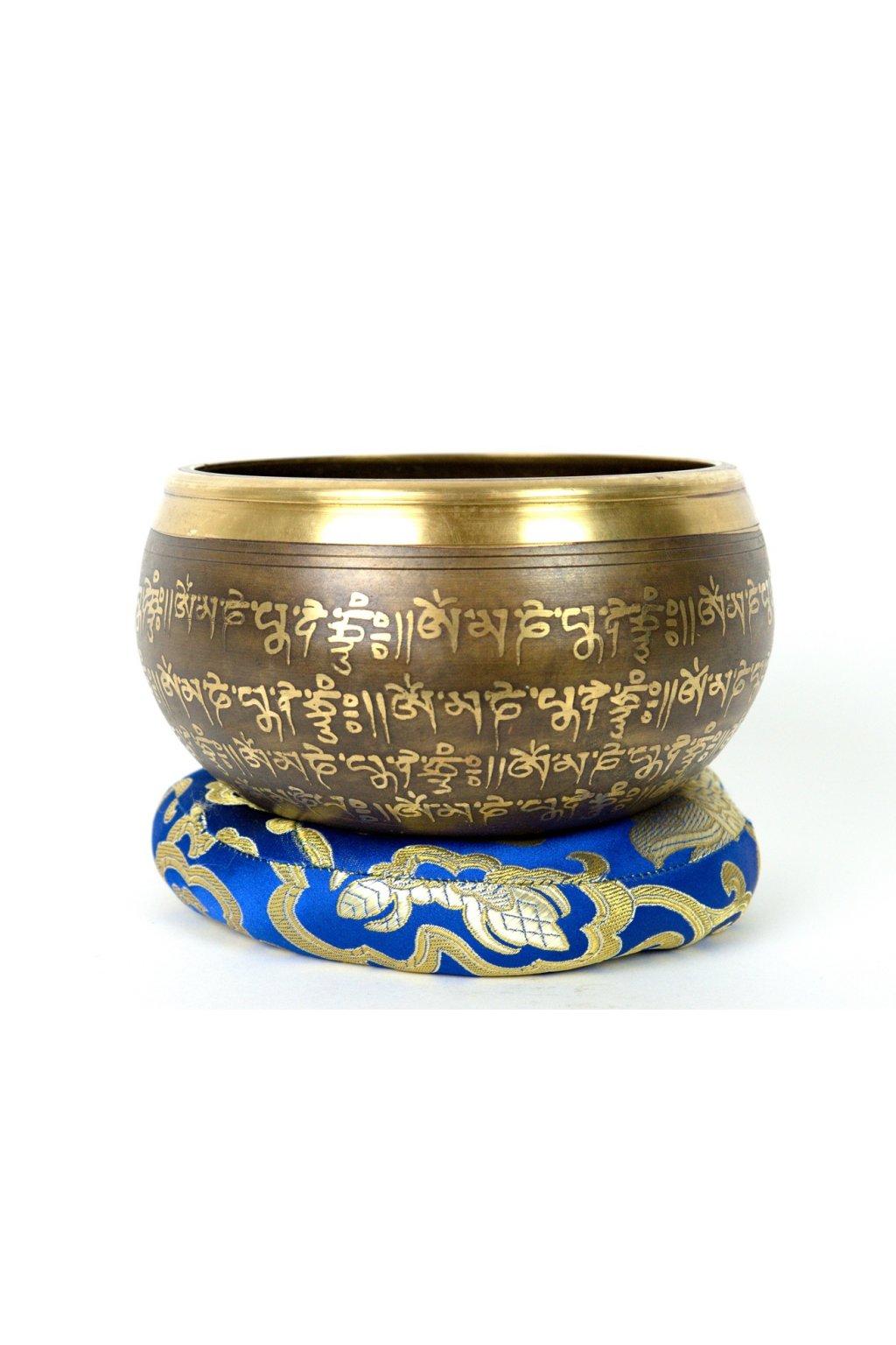 Tibetská zpívající mísa 869 gr - odlévaná