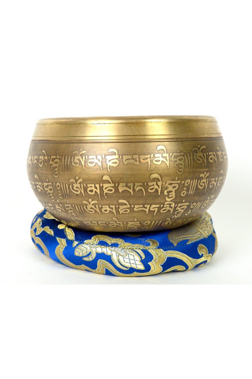 Tibetská zpívající mísa 851 gr - odlévaná