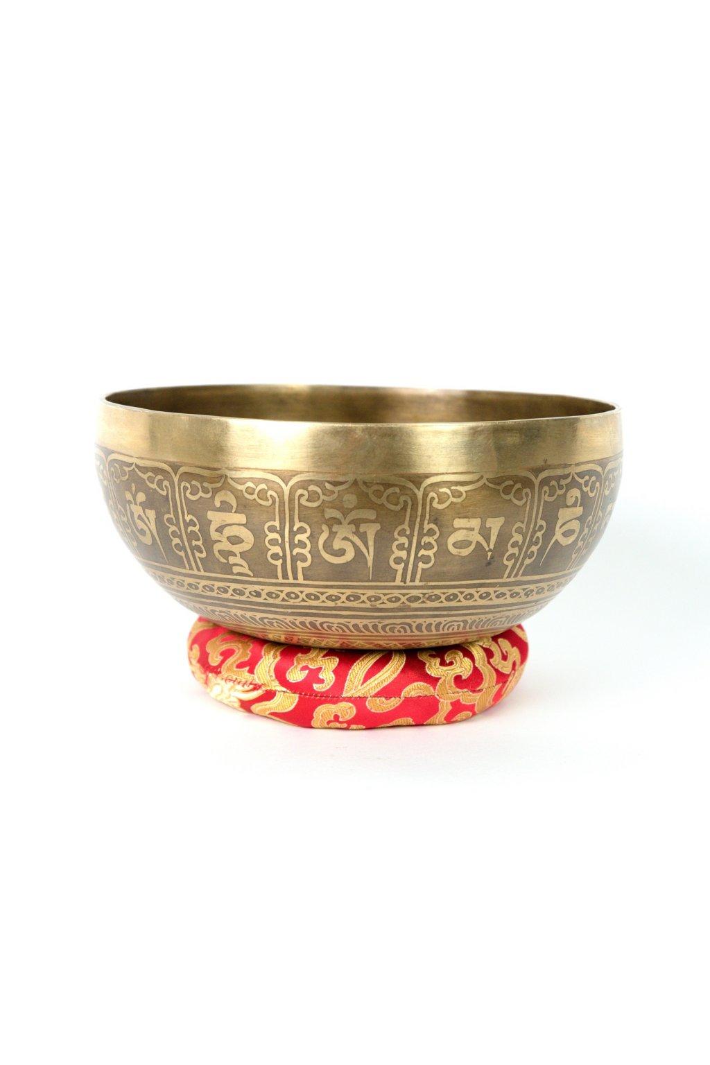 Tibetská zpívající mísa 1008 gr - ručně tepaná